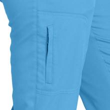 Close-up of zippered cargo pocket on Barco Grey's Anatomy 4277 Women's Cargo Scrub Pant