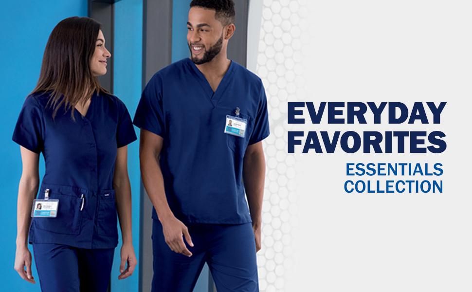 Landau Essentials Scrubs Medical Healthcare Uniforms Fashion