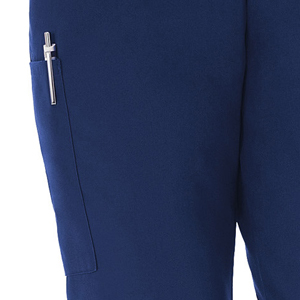 White Swan Fundamentals 14720 Women's Scrub Pant Elastic Medical Healthcare Uniforms Fashion