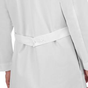 "White Swan Meta 6116 Unisex Lab Coat 40"" Medical Healthcare Uniforms Fashion"