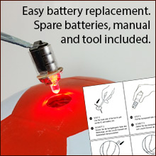 Easy Battery Replacement
