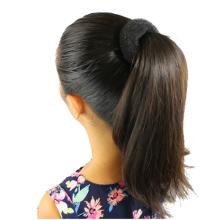 Hair Bun ponytail