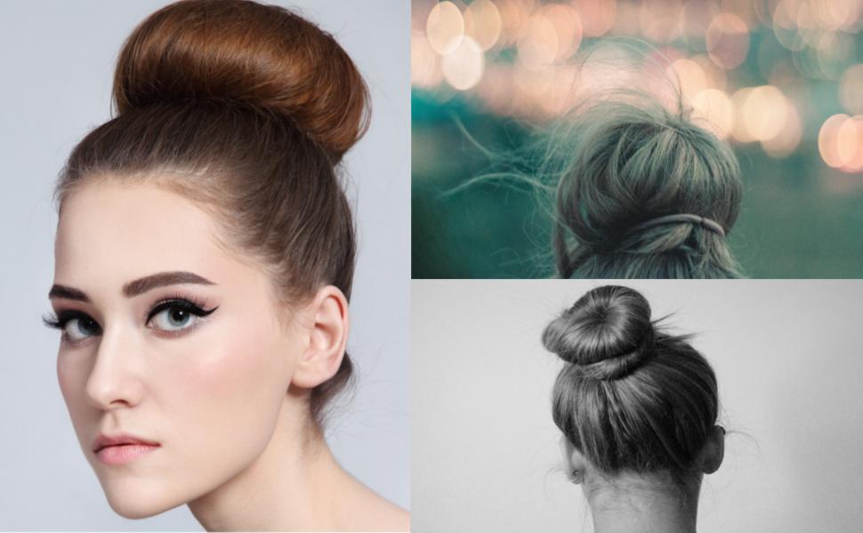 Lifestyle hair buns