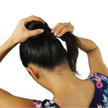 Hair bun twist