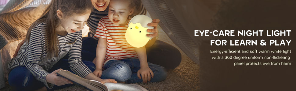 Eye-care Night Light For Learn & Play