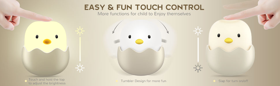 EASY & FUN TOUCH CONTROL