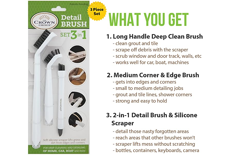 Bathroom Grout Tile cleaning brush