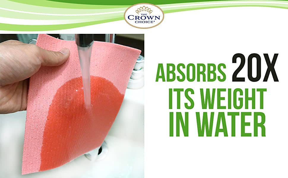 sponge cloth super absorbent