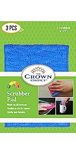 home scrubber pad non scratch kitchen sponge