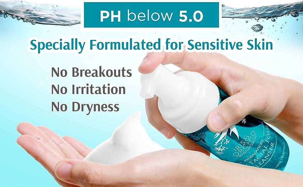 natural face wash for sensitive skin