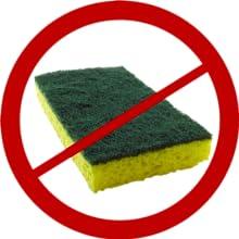no odor kitchen sponge cloth dish rag