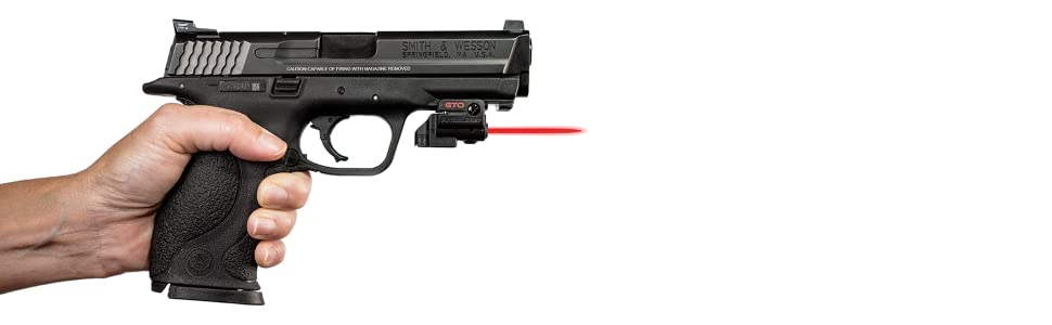 ArmaLaser Walther PPQ M2 PPX GTO Red Laser and FLX42 Grip Switch