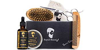 Beard Grooming & Trimming Kit for Men Care