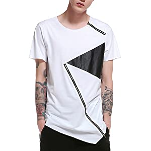 zip t shirt