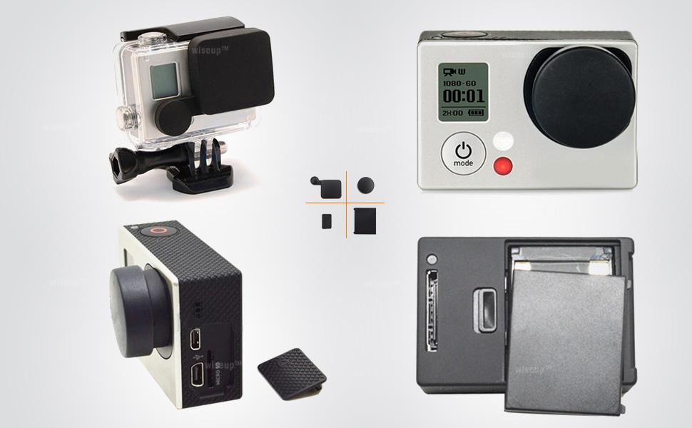 Amazon Com Wiseup Protective Camera Lens Cap Battery