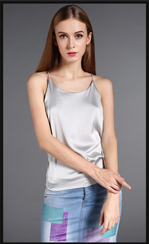 732fadb590 Colyanda Women s Tank Top Silky Loose Camisole Shirt in Many Colors ...