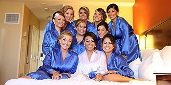 wedding robes Bridesmaid robes bride robe