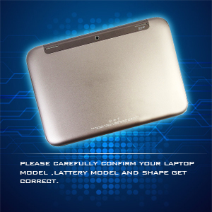 Please carefully confirm your laptop model, battery model, and shape get correct one.