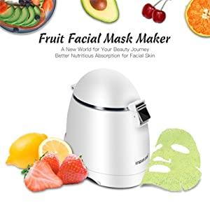 Fruit Mask Gel Maker Face Machine Titanium Micro Needle Roller Derma Anti Acne Scars Stretch Marks Age Spots 2.0mm