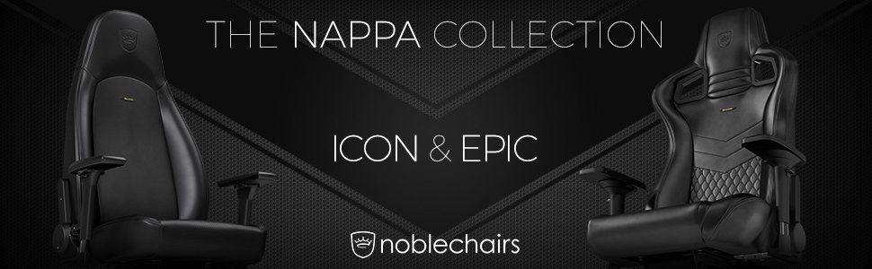 noblechairs EPIC Nappa Leather Gaming / Office Chairs