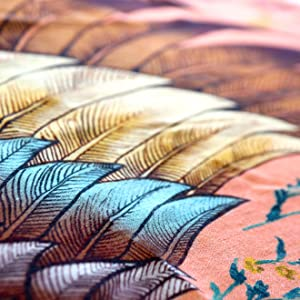 wings feathers feather shawl