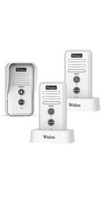 wireless interocm doorbell_ring chime white W1T2