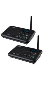 wireless intercom for home 2 stations WL888