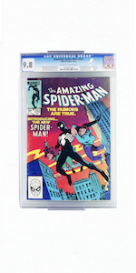 comic mount closeup, invisible design, easy to assemble, versatile, simple collectibles display