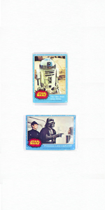card mount closeup, invisible design, easy to assemble, versatile, simple collectibles display