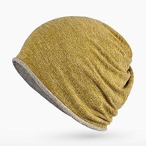 713164a742d0c Maleroads Beanie For Men and Women Baggy Skull Cap Slouchy Hat Winter Cap.  Reversible ...