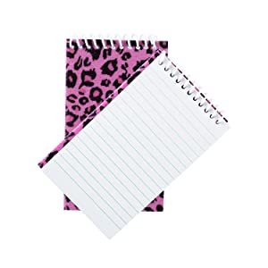 Fun Birthday Party Favors, Goodie Bag Fillers for Kids, Mini cute Notebooks Bulk, candy bag fillers