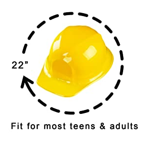 yellow hard hat for kids, Construction Toy Hard Hat, Construction Worker Costume