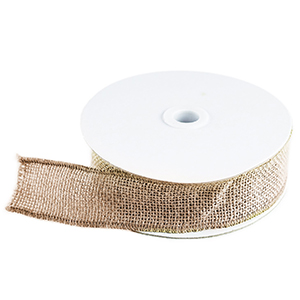 Burlap Ribbon Yards with Fringed & Rustic Edges, western theme party supplies