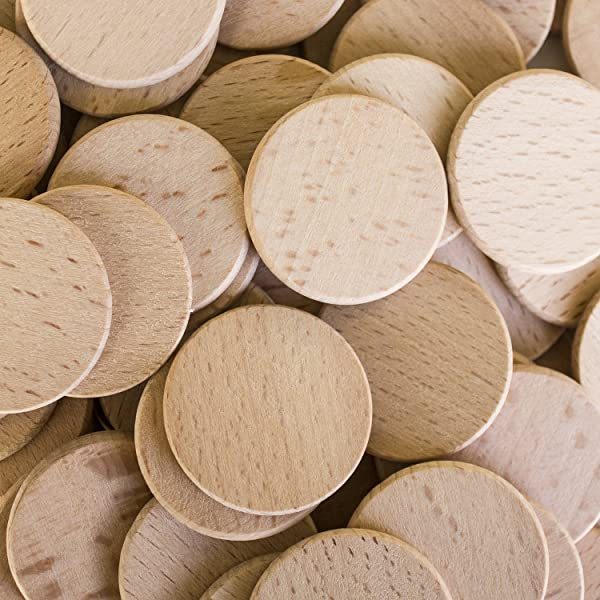 wood craft pieces unfinished 1 5 quot wood cutout circles 3250