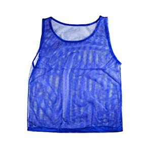 pretty nice 4c408 bfc2b Super Z Outlet Nylon Mesh Scrimmage Team Practice Vests Pinnies Jerseys for  Children Youth Sports Basketball, Soccer, Football(12 Jerseys)