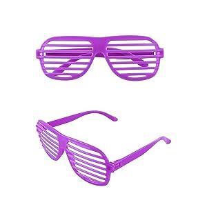 3f53c2e68f7e Amazon.com  12 Pairs of Plastic Shutter Glasses Shades Sunglasses ...