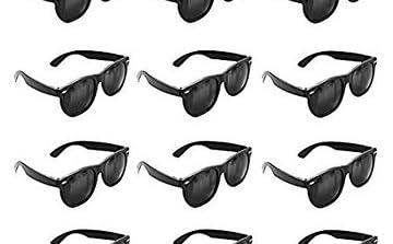 Black Sunglasses Wholesale Party Pack, Retro Wayfarer Risky Business-Blues Brothers, mens sunglasses