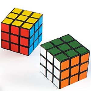 Amazon.com: Mini color 3x3 cubo de juguete de juego del ...