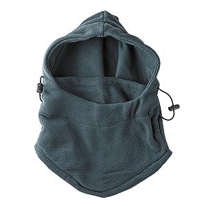 beanie for men, animal hood, Furry Hoodie, long paw scarf, warm fleece hoodie, slouchy beanies