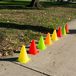 Pro Disc Cones, Agility Soccer Cones, Field Cone Markers,  Plastic Sport Training Traffic Cone