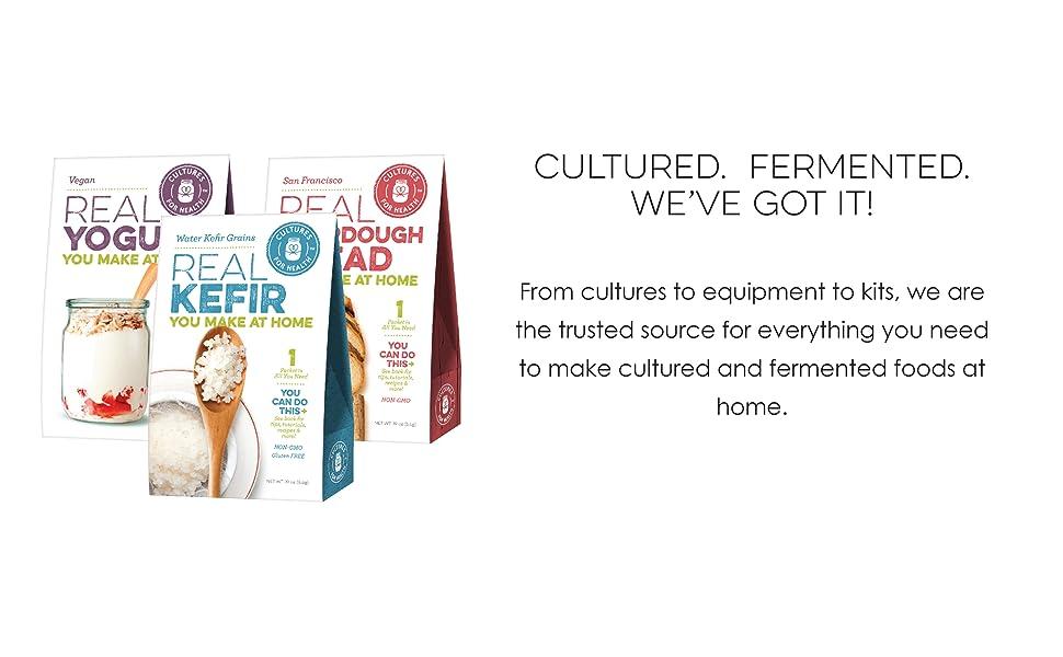 Cultured. Fermented. We've got it