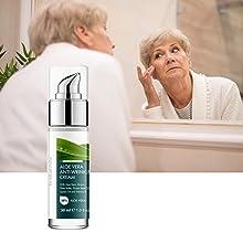 curaloe pure organic aloe vera gel lotion essential oils best men women anti-wrinkle anti-aging