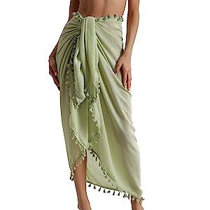 beach skirt cover up