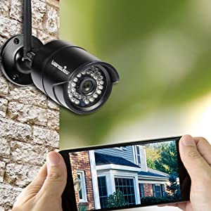 Mua sản phẩm Wansview Outdoor 720P WiFi Wireless IP Security