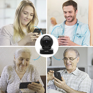 users  Wansview Wireless Security Camera, IP Camera 1080P HD, WiFi Home Indoor Camera for Baby/Pet/Nanny, Motion Detection, 2 Way Audio Night Vision, Works with Alexa, with TF Card Slot and Cloud f5f4ed11 73f0 4d63 a568 ac3aab44ddd1