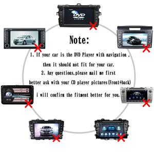 6+6 Yomikoo Car MP3 USB//AUX 3.5mm Stereo Wireless Music Receiver Wireless HandsFree Auto Bluetooth Adapter for Toyota Pin Camry Tacoma Corolla Yaris 4runner RAV4 Lexus Bluetooth Car Kit