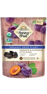 sunny fruit organic plums