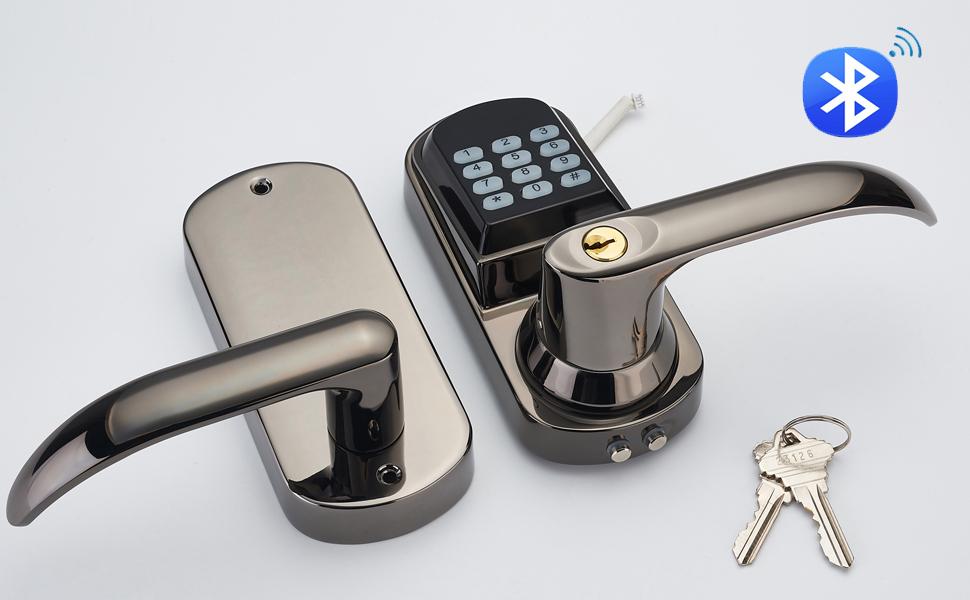 Haifuan Bluetooth Electronic Keyless Code Door Lock