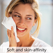 Soft and skin-affinity