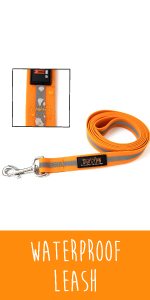 waterproof leash